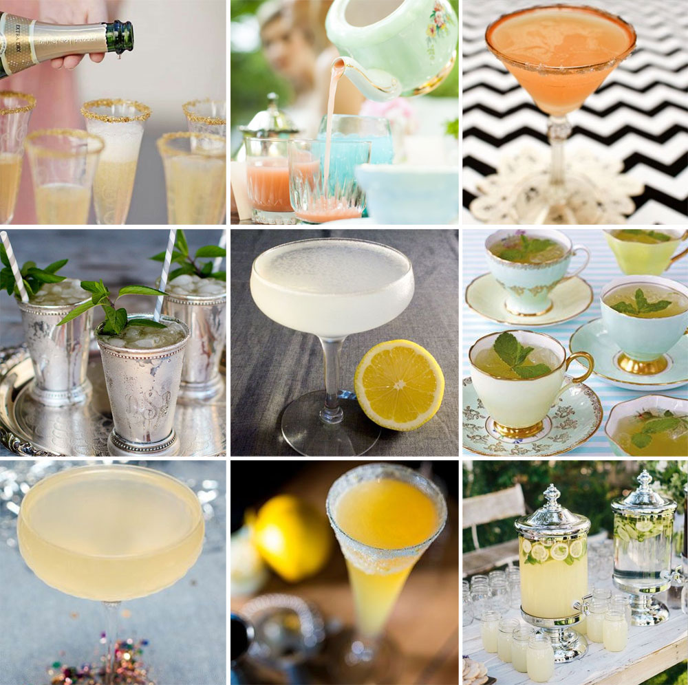 6 Vintage Inspired Cocktail Ideas for your Wedding - English