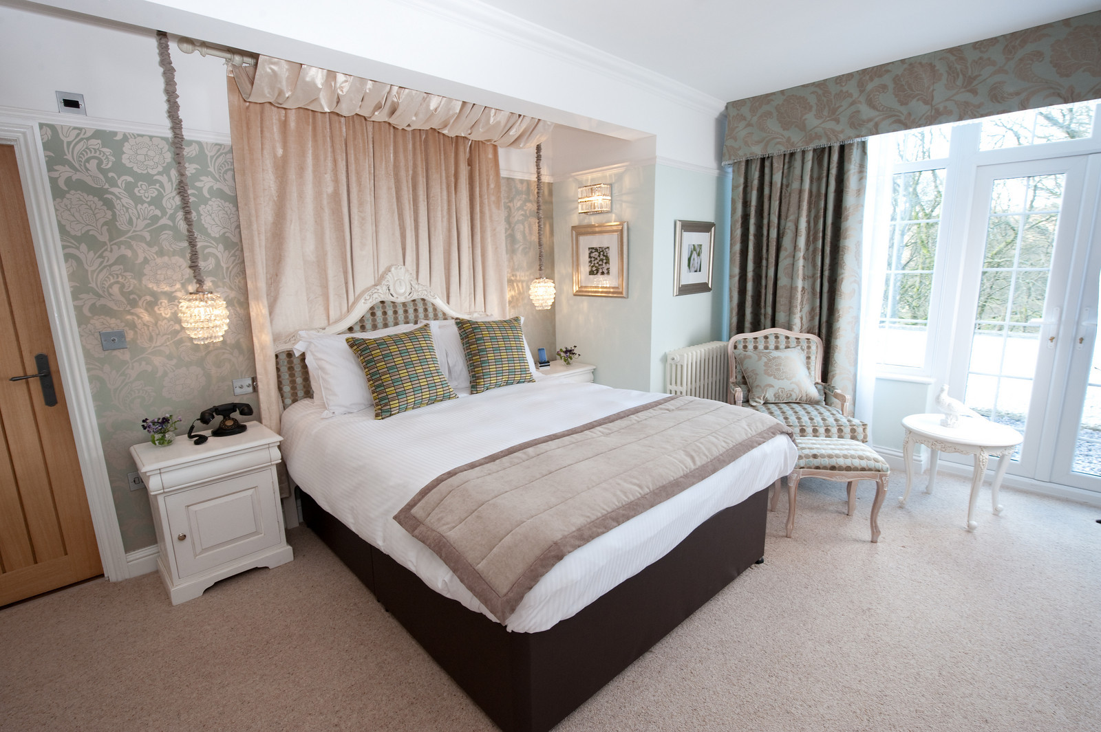 Luxury Individually Styled Bedrooms at The Wild Boar